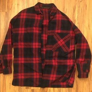 Zara flannel